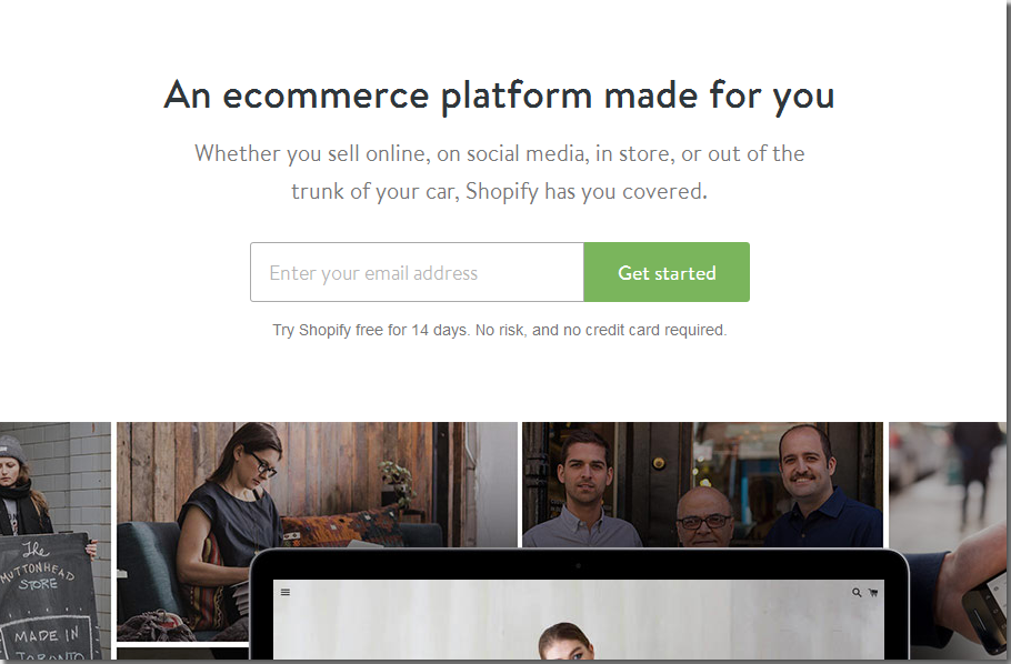 shopify - best ecommerce platform