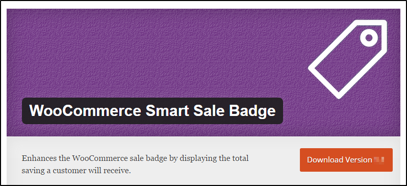 WooCommerce smart sale badge