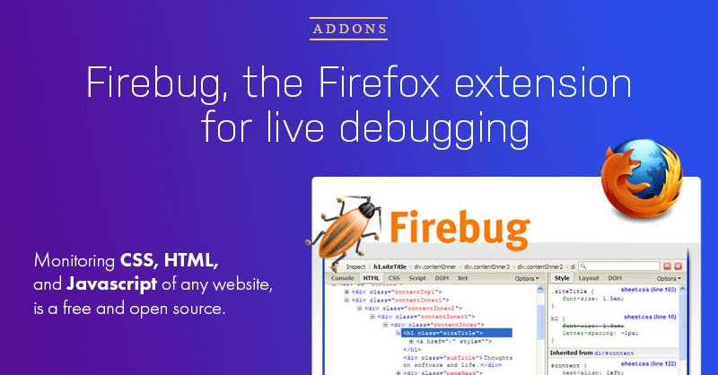 How to use Firebug