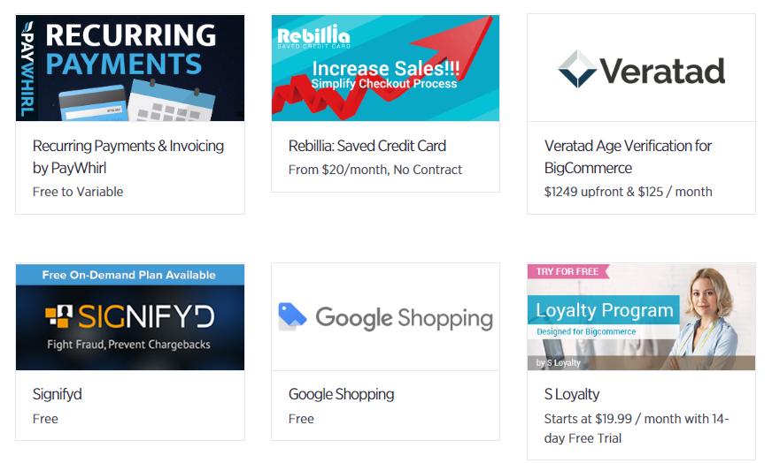 bigcommerce app store