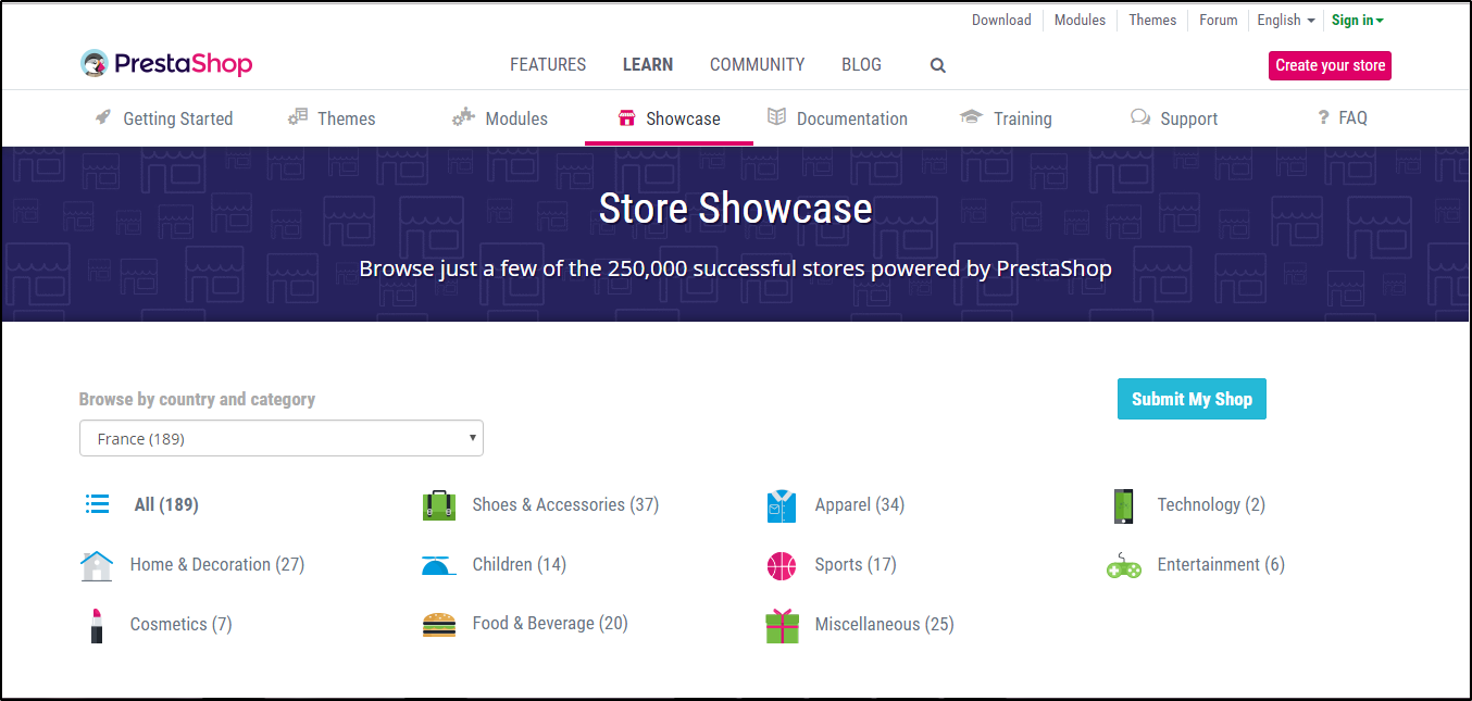 prestashop-showcase