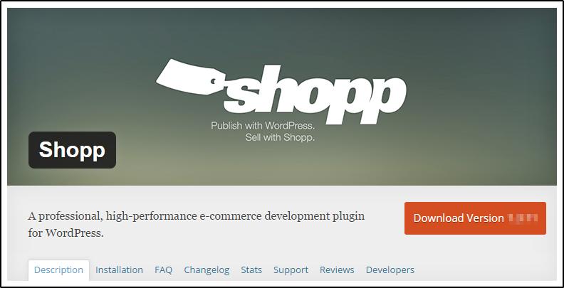 shopp wordpress ecommerce plugins
