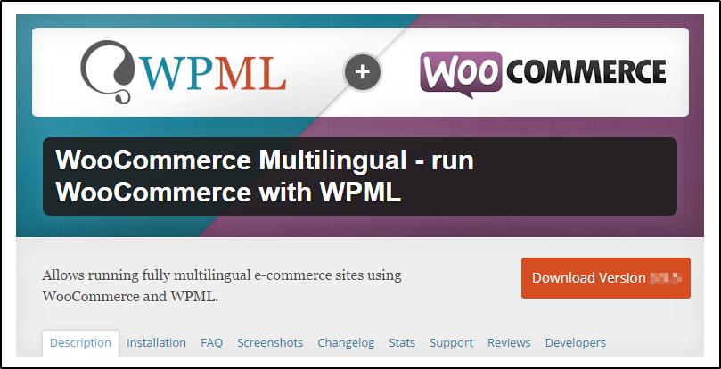 woocommerce multilingual plugin