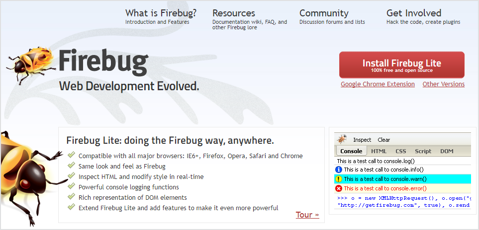 How To Use Firebug 10
