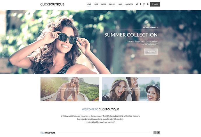 WooCommerce theme for WordPress